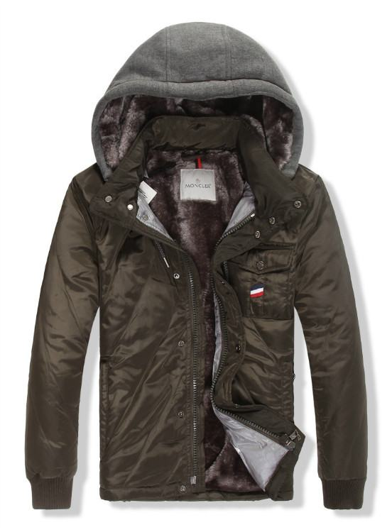 Moncler Gamme Bleu 11 Men Jacket Brown