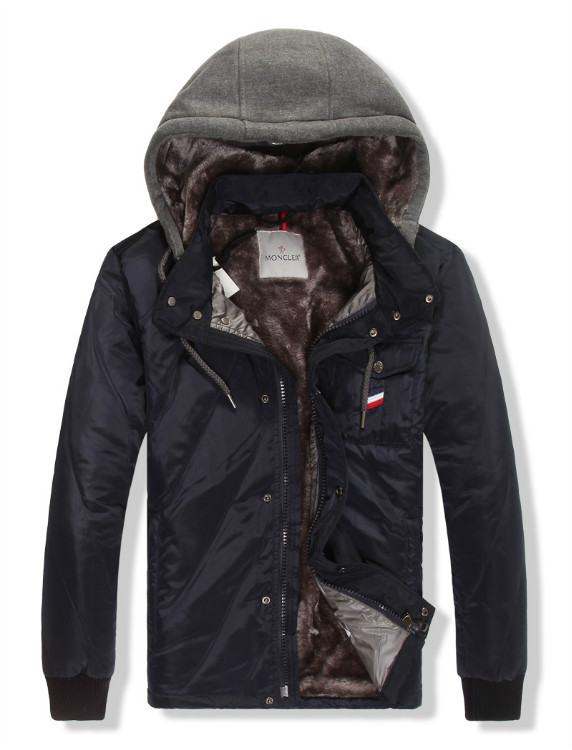 Moncler Gamme Bleu 11 Men Jacket Dark Blue