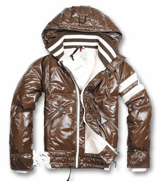 Moncler Hernest Men Jacket Brown