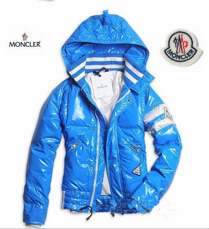 Moncler Hernest Men Jacket Sky Blue
