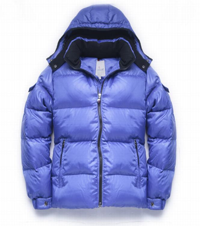 Moncler Himalaya Men Jacket Light Blue