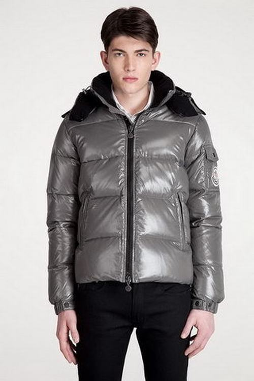 Moncler Himalaya Men Jacket Silver Grey