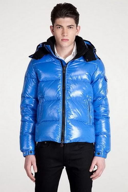 Moncler Himalaya Men Jacket Sky Blue