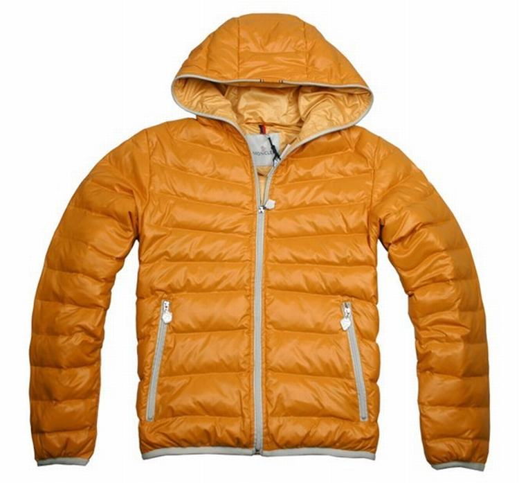 Moncler Jacket M-01 Men Jacket Orange
