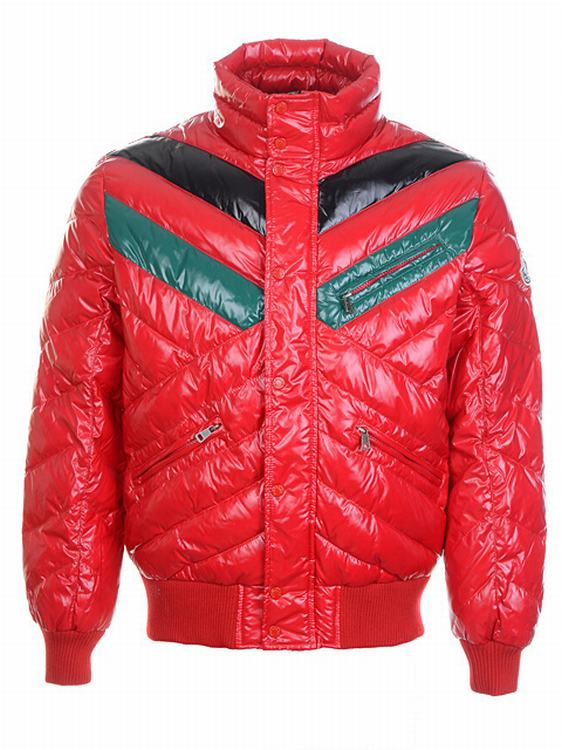 Moncler Jacket MJ62 Men Jacket Red