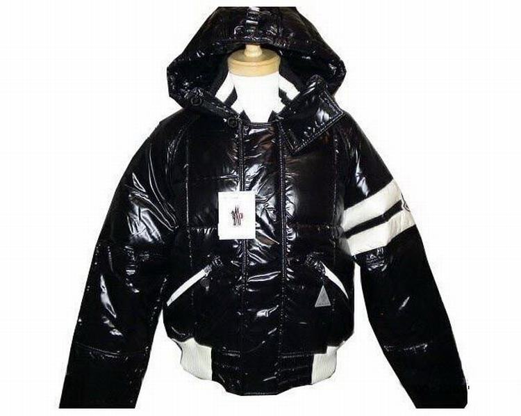 Moncler Leon Men Jacket Black