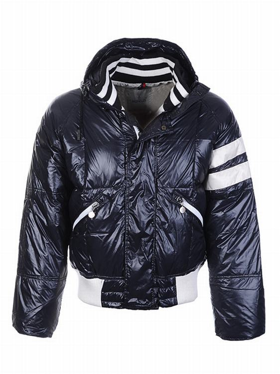 Moncler Leon Men Jacket Blue