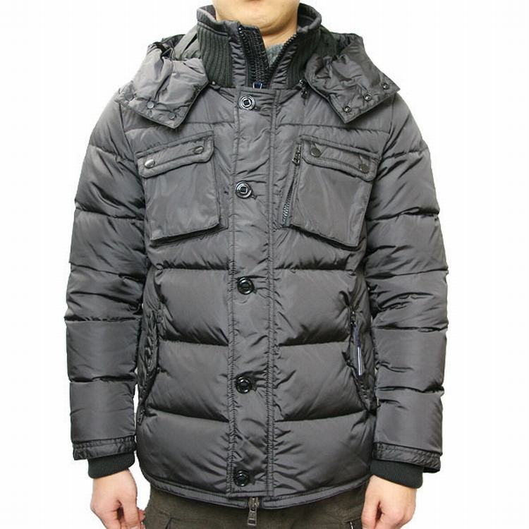 Moncler Lisbonne Men Jacket Grey