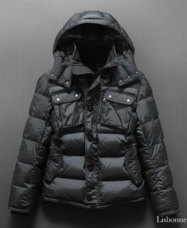 Moncler Lisbonne Men Jacket Light Green