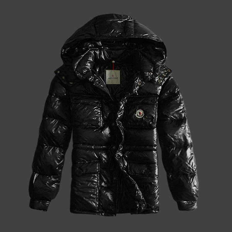 Moncler Mark Men Jacket Black