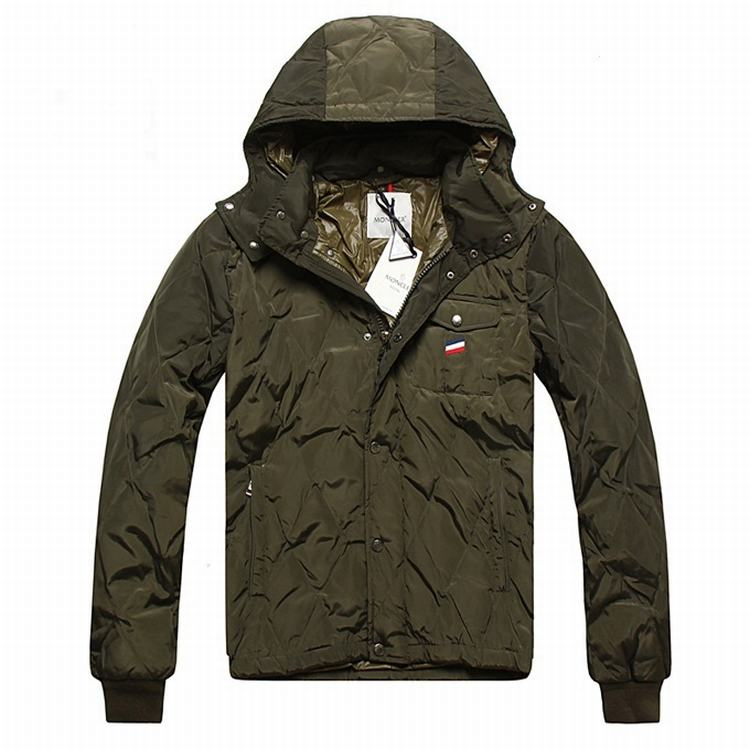 Moncler Maubeuge Men Jacket Army Green