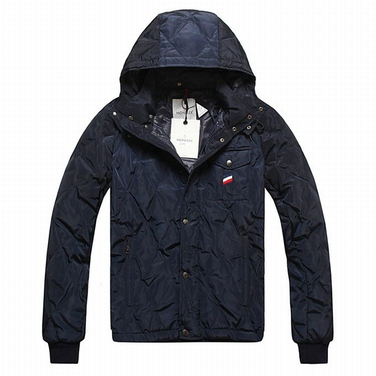 Moncler Maubeuge Men Jacket Dark Blue