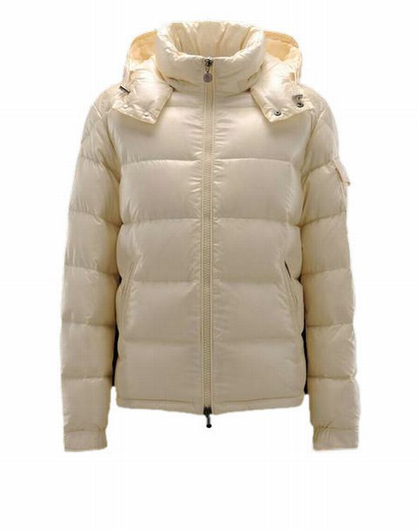 Moncler Maya Men Jacket Cream White