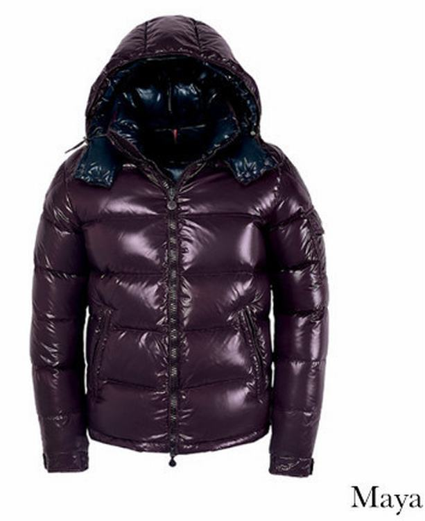 Moncler Maya Men Jacket Purple Red