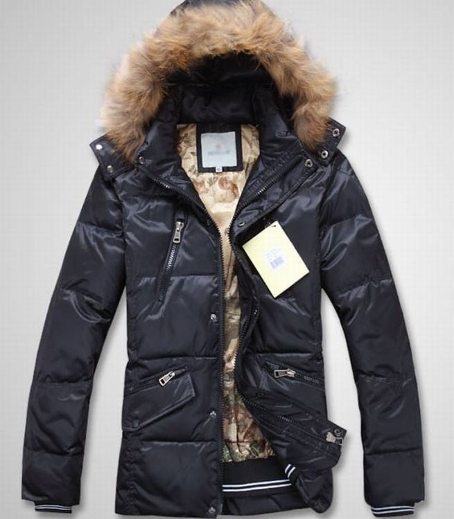 Moncler Men Jacket Light Blue