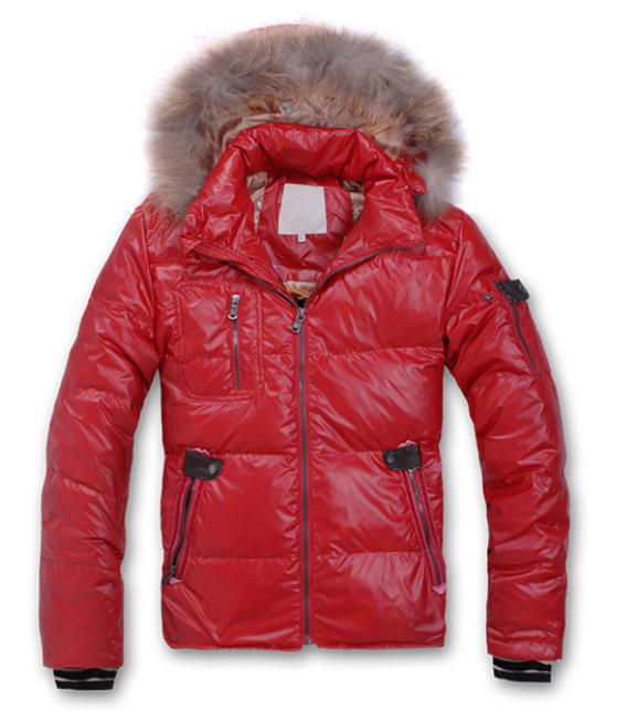 Moncler Men Outwears Red