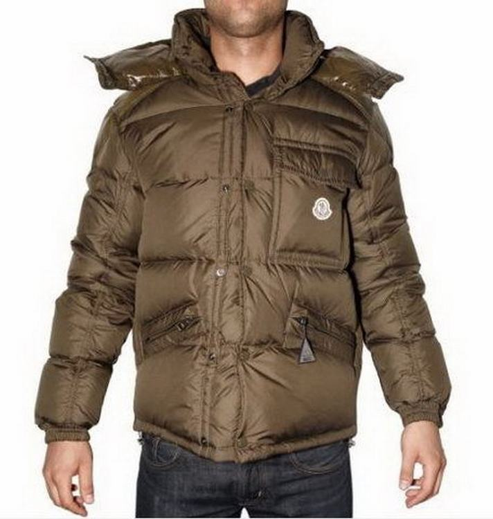 Moncler Montclar Men Jacket Brown