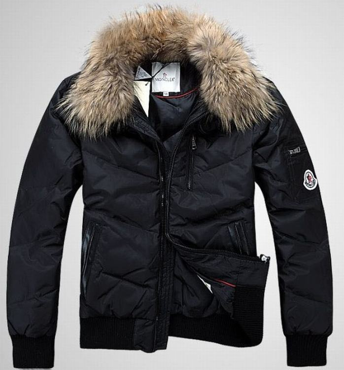 Moncler Outwear 03 Men Jacket Dark Blue