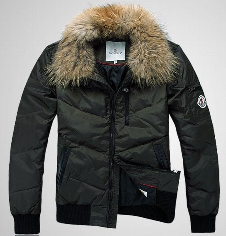 Moncler Outwear 03 Men Jacket Green