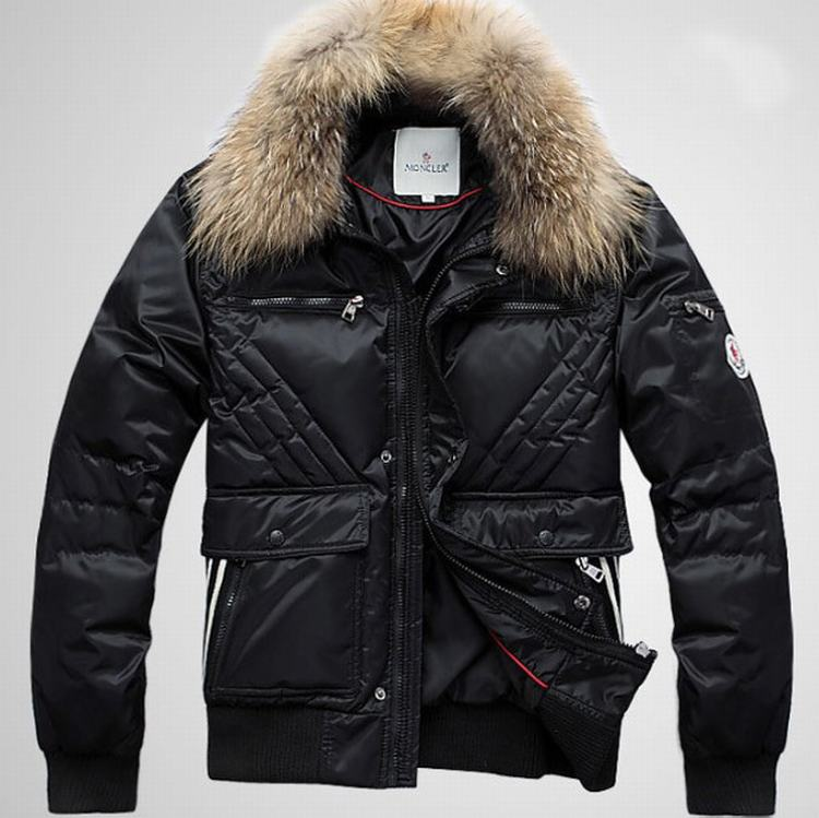 Moncler Outwear 04 Men Jacket Black