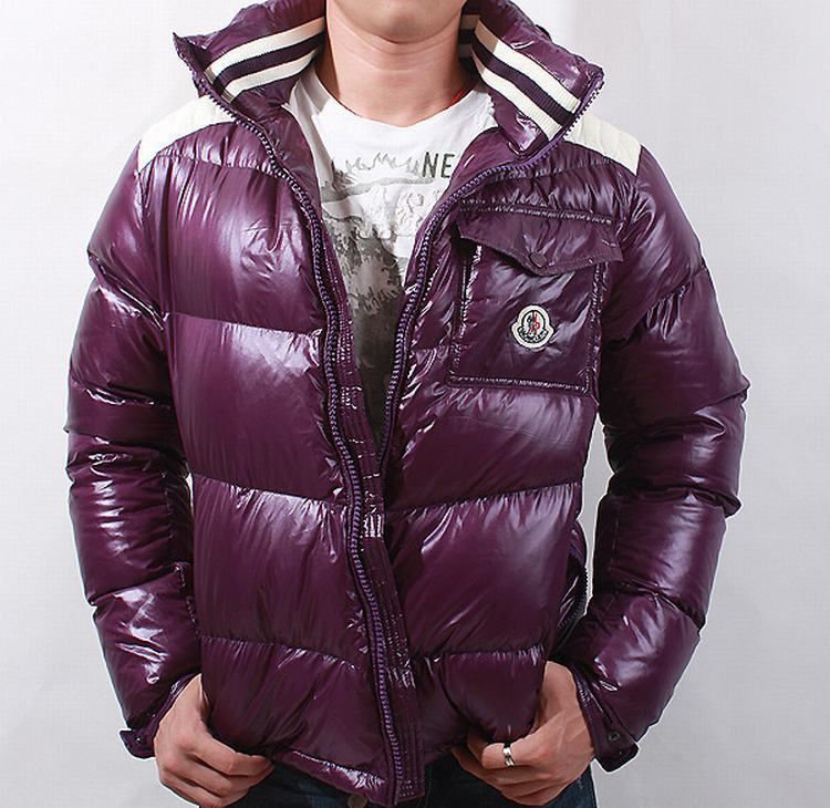 Moncler Outwear 07 Men Jacket Purple