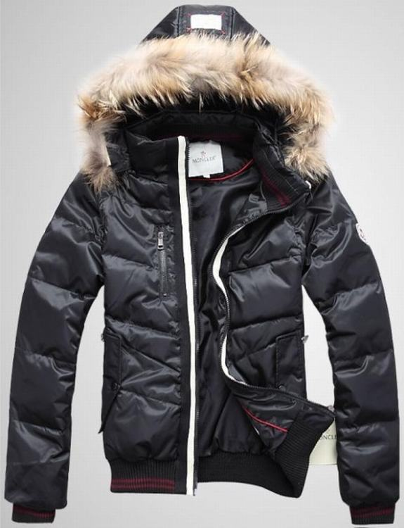 Moncler Outwear 10 Men Jacket Dark Blue