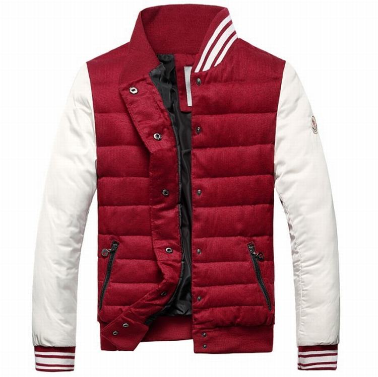 Moncler Perigord Men Jacket Red White