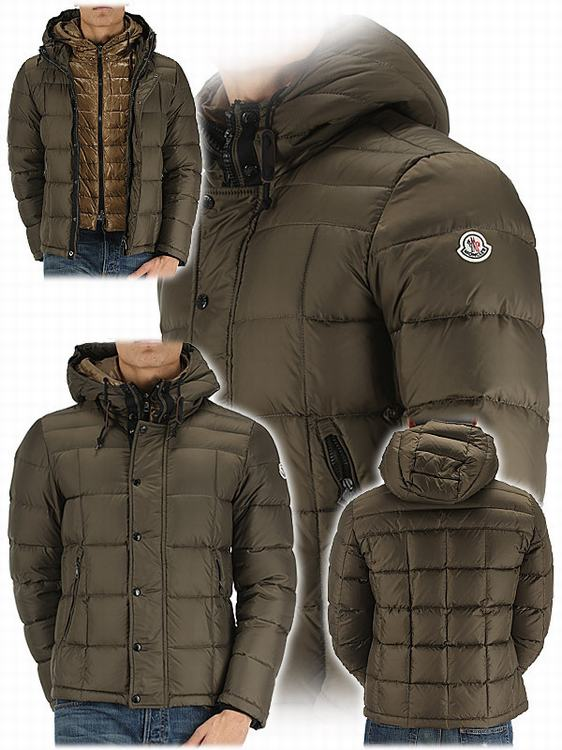 Moncler Quentin Men Jacket Army Green