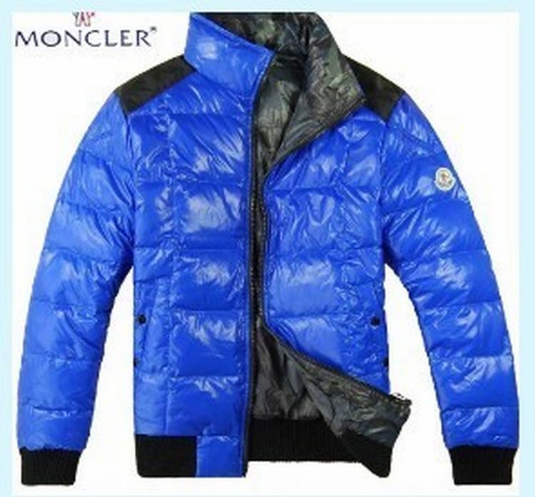 Moncler Racine Men Jacket Blue Black