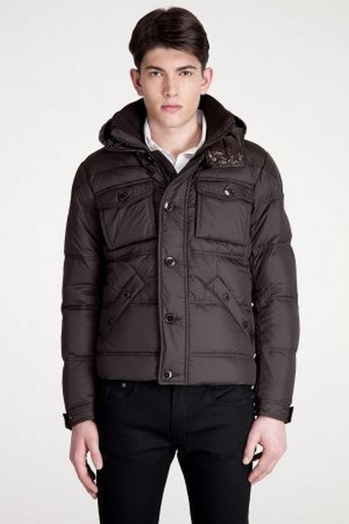 Moncler Rentilly Men Jacket Dark Brown