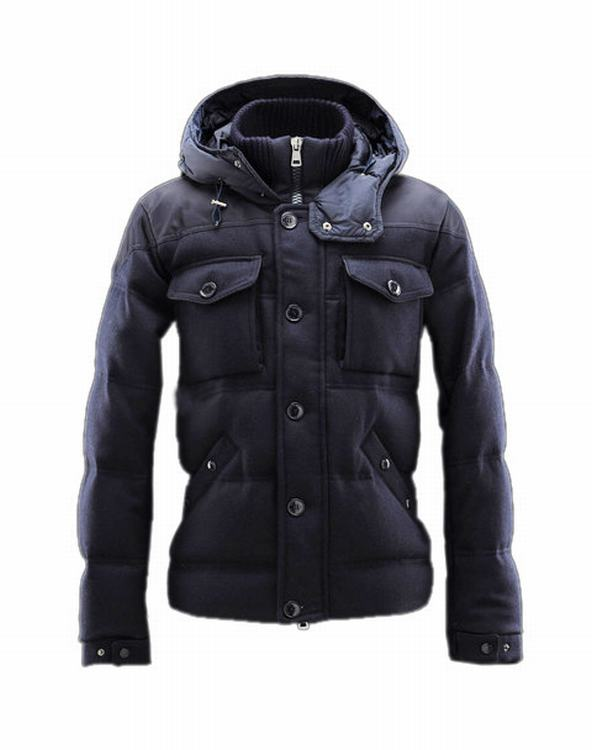 Moncler Republique 02 Men Jacket Blue