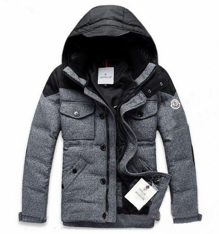 Moncler Republique 02 Men Jacket Grey