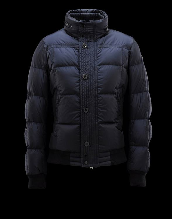 Moncler Rhonelle Men Jacket Blue