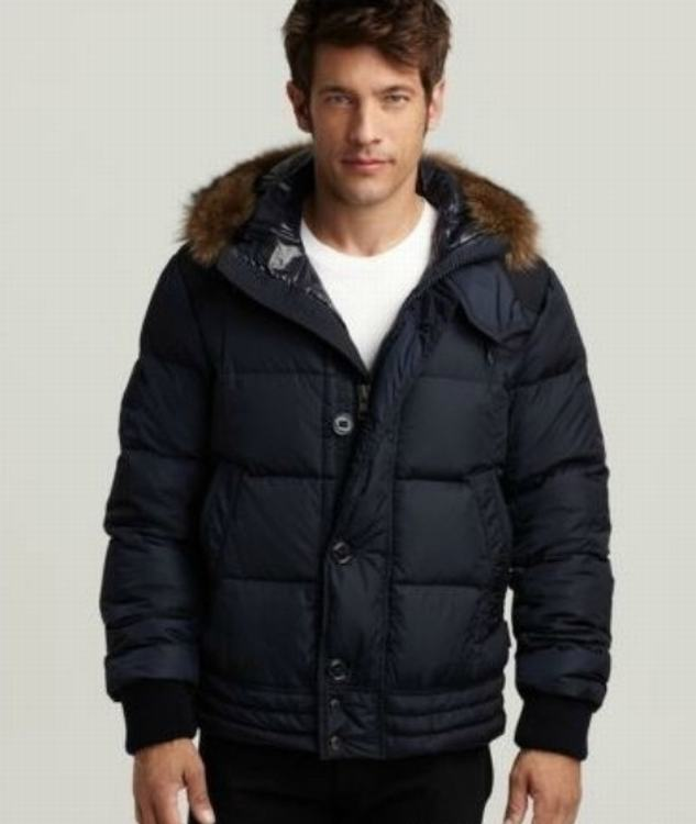 Moncler Ribera Men Jacket Blue