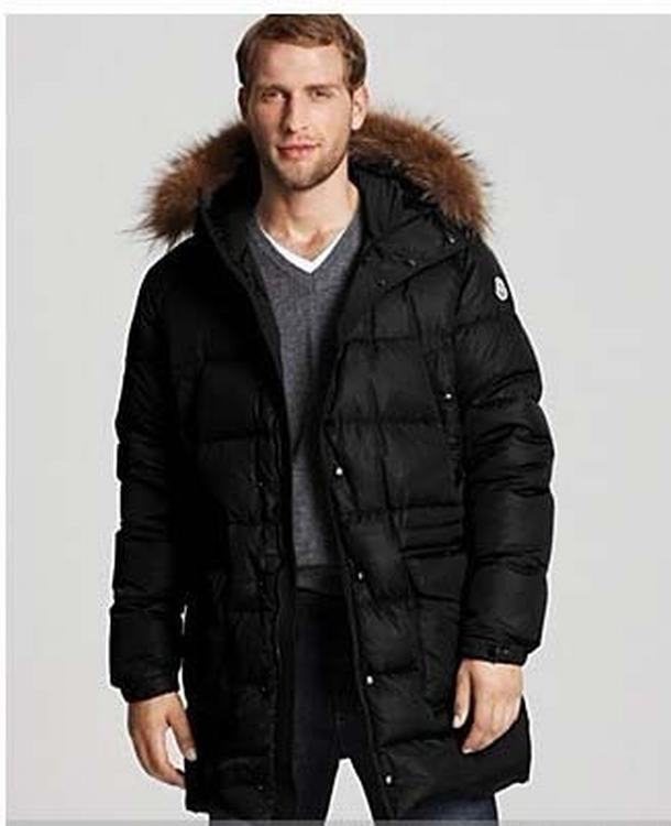 Moncler Riviere Men Jacket Black