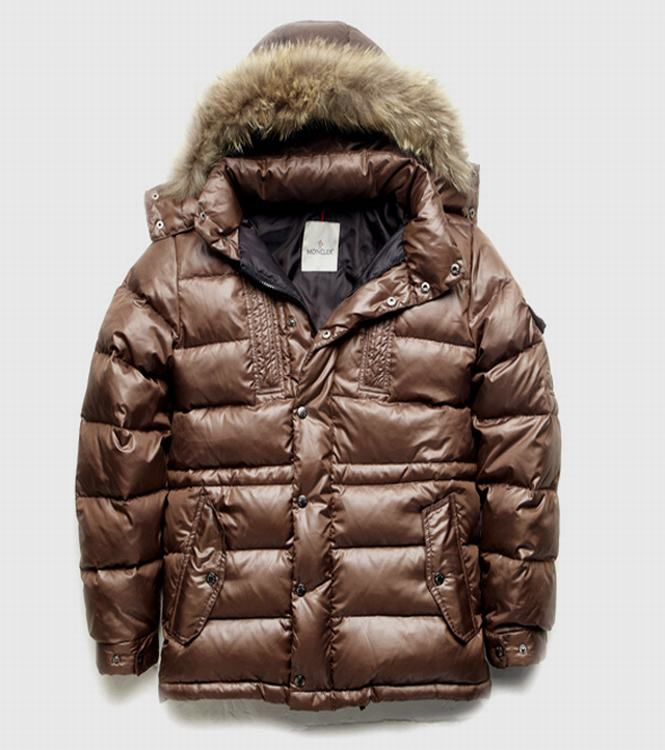 Moncler Rod Men Jacket Brown