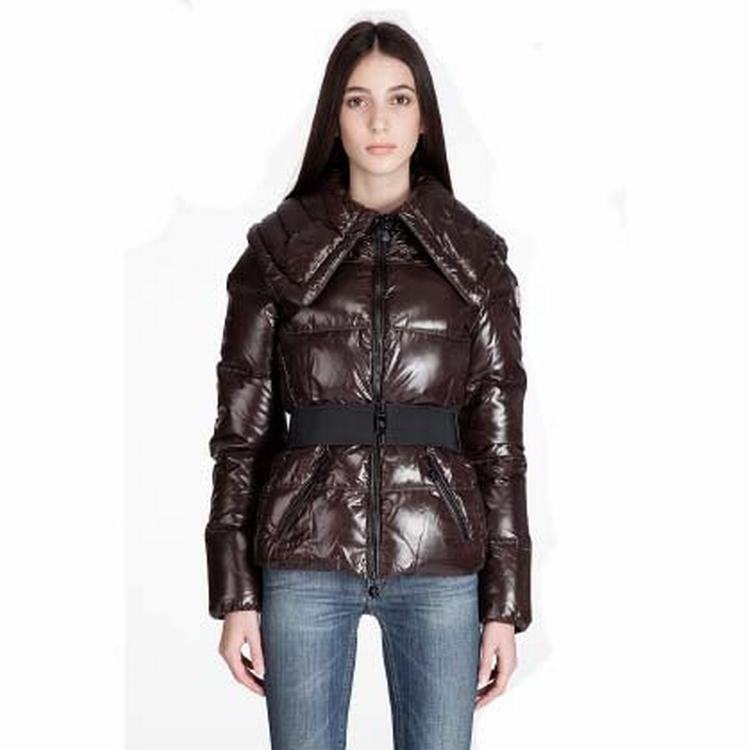 Moncler Aliso Women Jacket Coffee