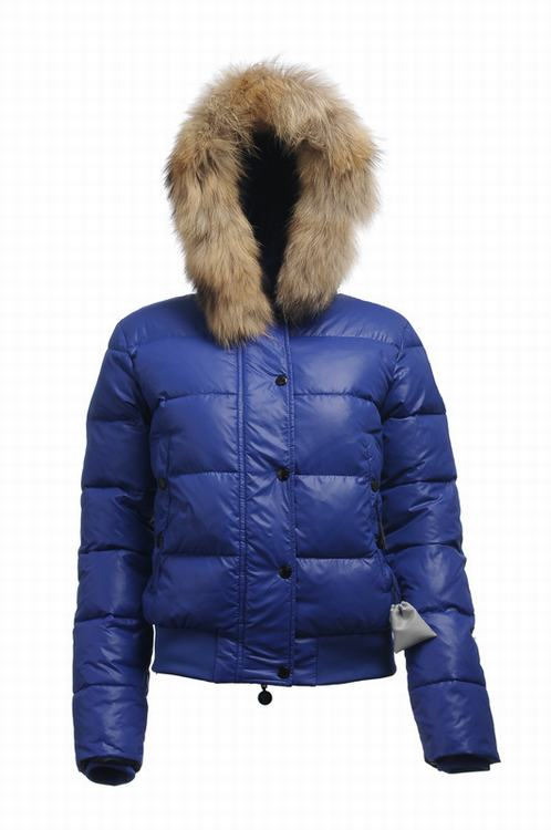 Moncler Alpin Women Jacket Blue