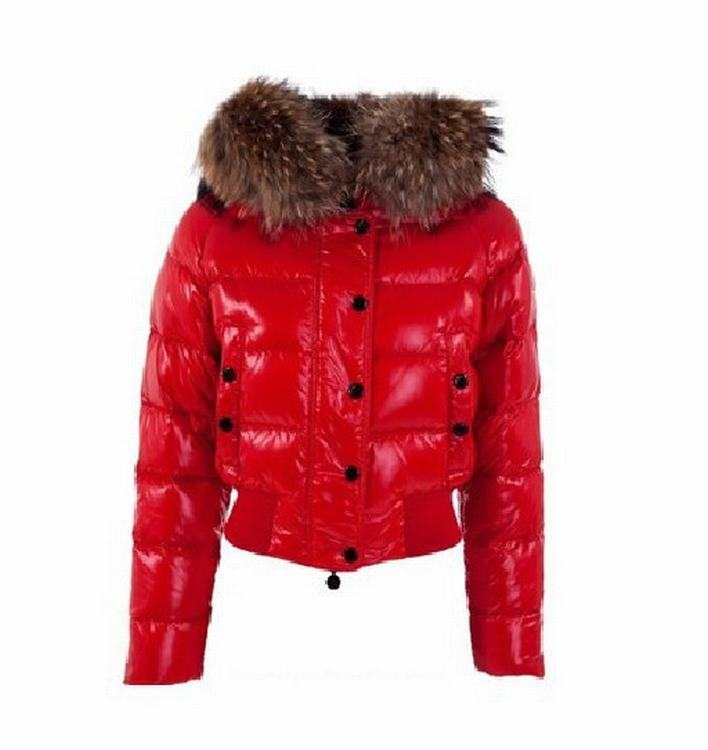 Moncler Alpin Women Jacket Red