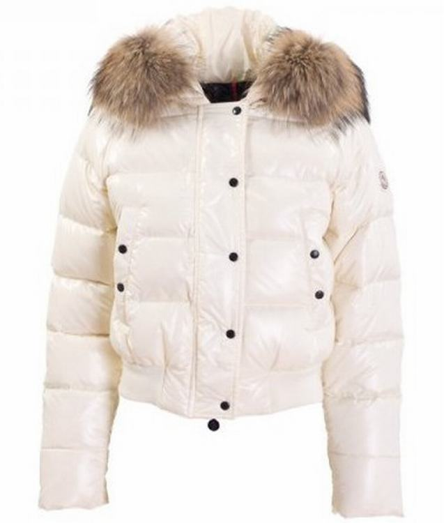 Moncler Alpin Women Jacket White