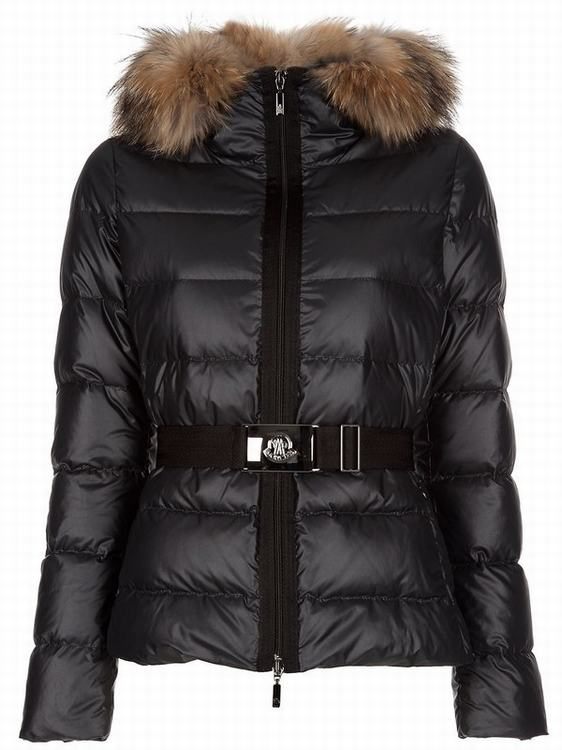 Moncler Angers Women Classic Jacket Black