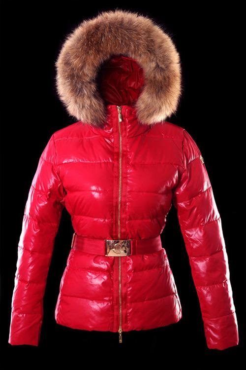 Moncler Angers Women Classic Jacket Red