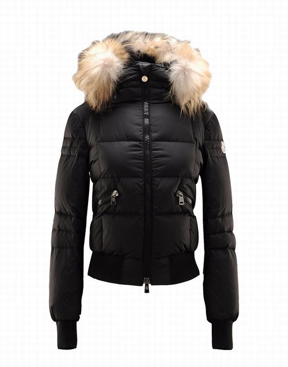 Moncler Baume Women Jacket Black