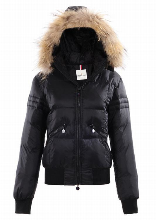 Moncler Baume Women Jacket Dark Blue