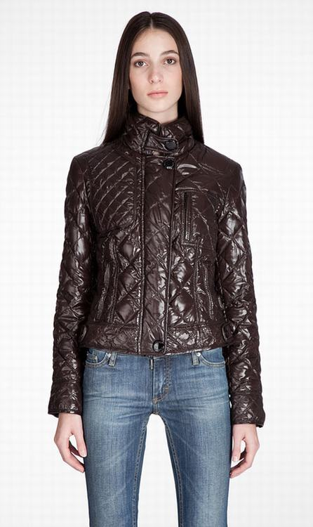 Moncler Bayonne Women Jacket Coffee