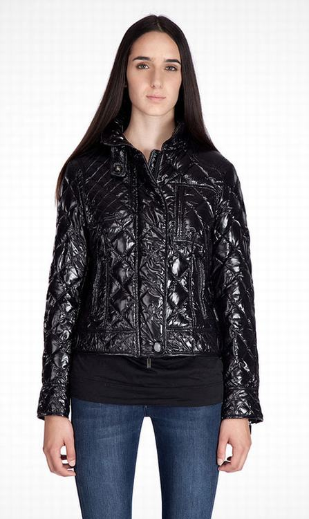 Moncler Bayonne Women Jacket Dark Brown