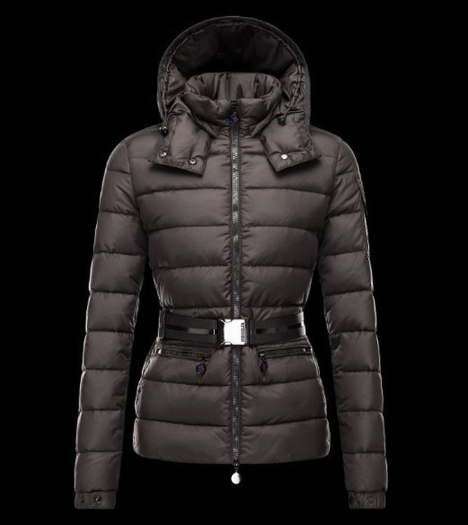 Moncler Bea Women Jacket Dark Brown