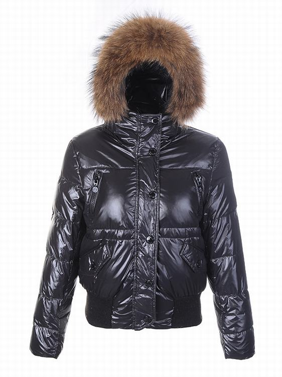 Moncler Breasted Women Jacket Dark Purple