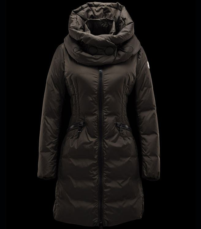 Moncler Cyroselle Women Jacket Brown