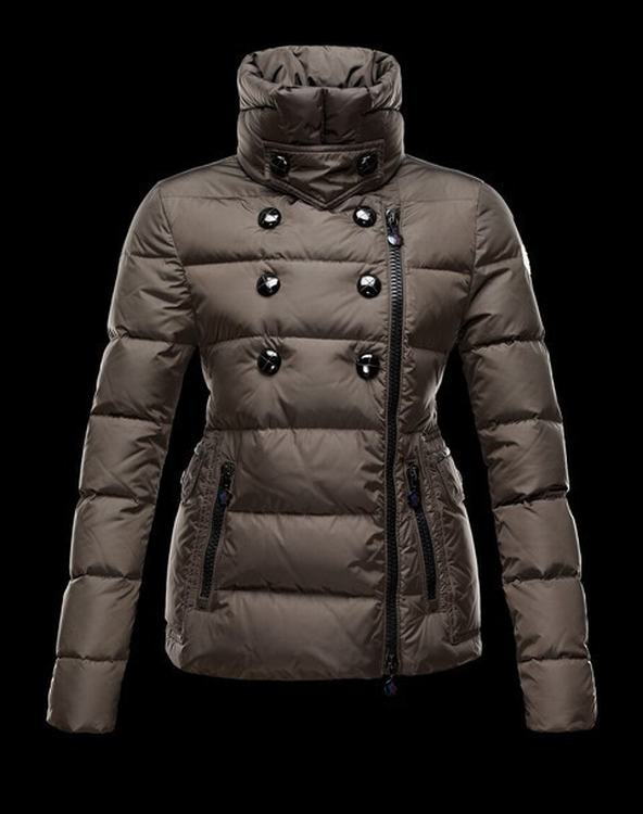 Moncler Cyroselle Women Jacket Coffee